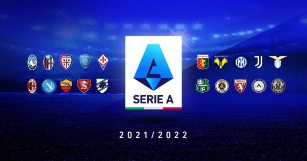 Lịch thi đấu bóng đá Serie A 2021-2022