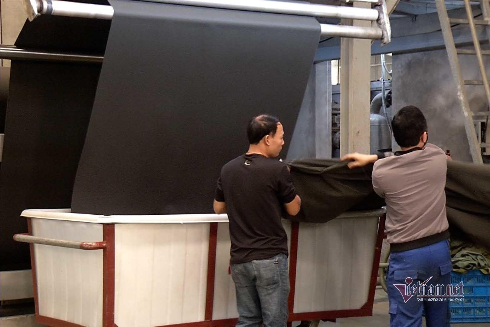 Hỗ trợ các nhà máy dệt nhuộm trong xử lý oxi già