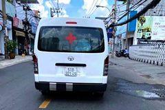 Chặn bắt tài xế dùng xe cứu thương giả chặt chém bệnh nhân ở TP.HCM