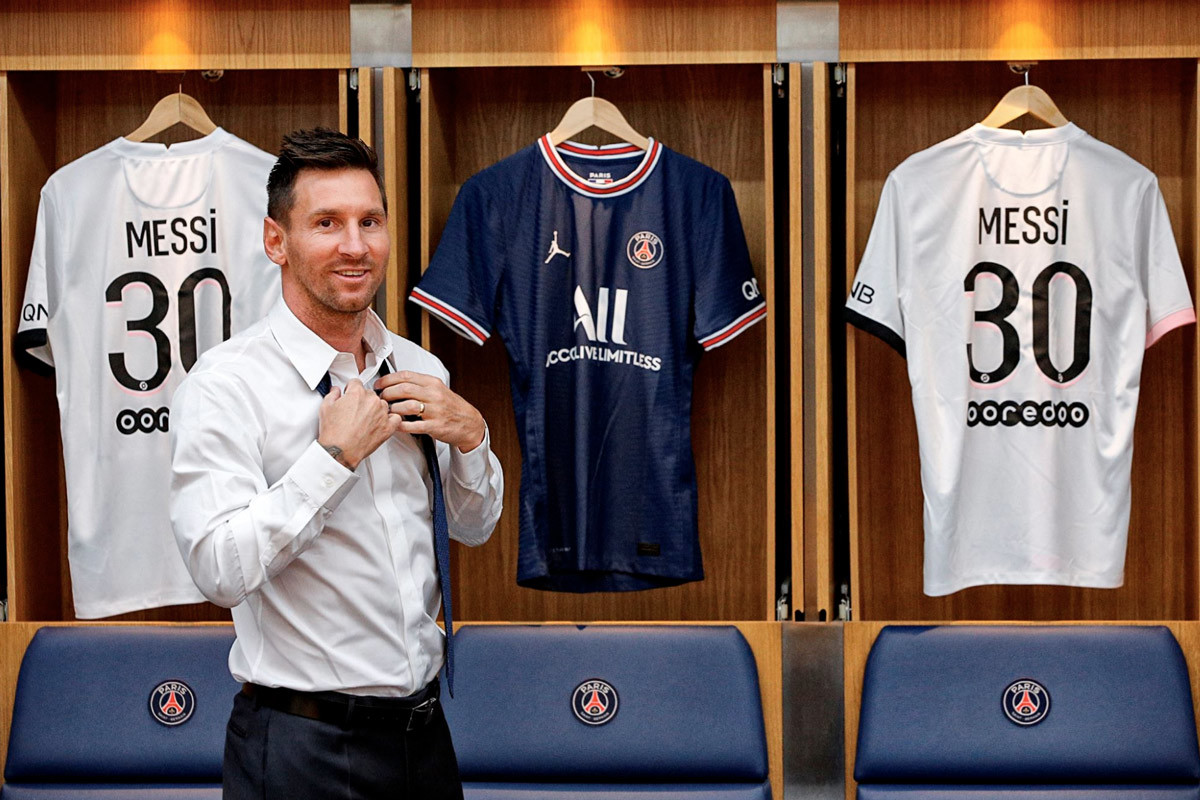 PSG, vương quốc dành cho Messi