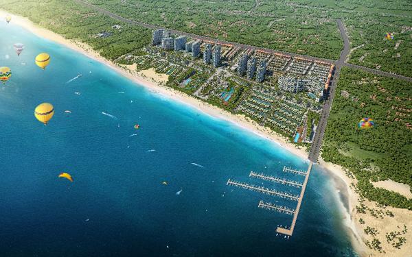 Hệ sinh thái nghỉ dưỡng khác biệt ở dự án đô thị biển Thanh Long Bay
