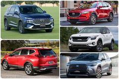 Top 5 xe đa dụng tháng 7/2021: Sự trở lại của Honda CR-V