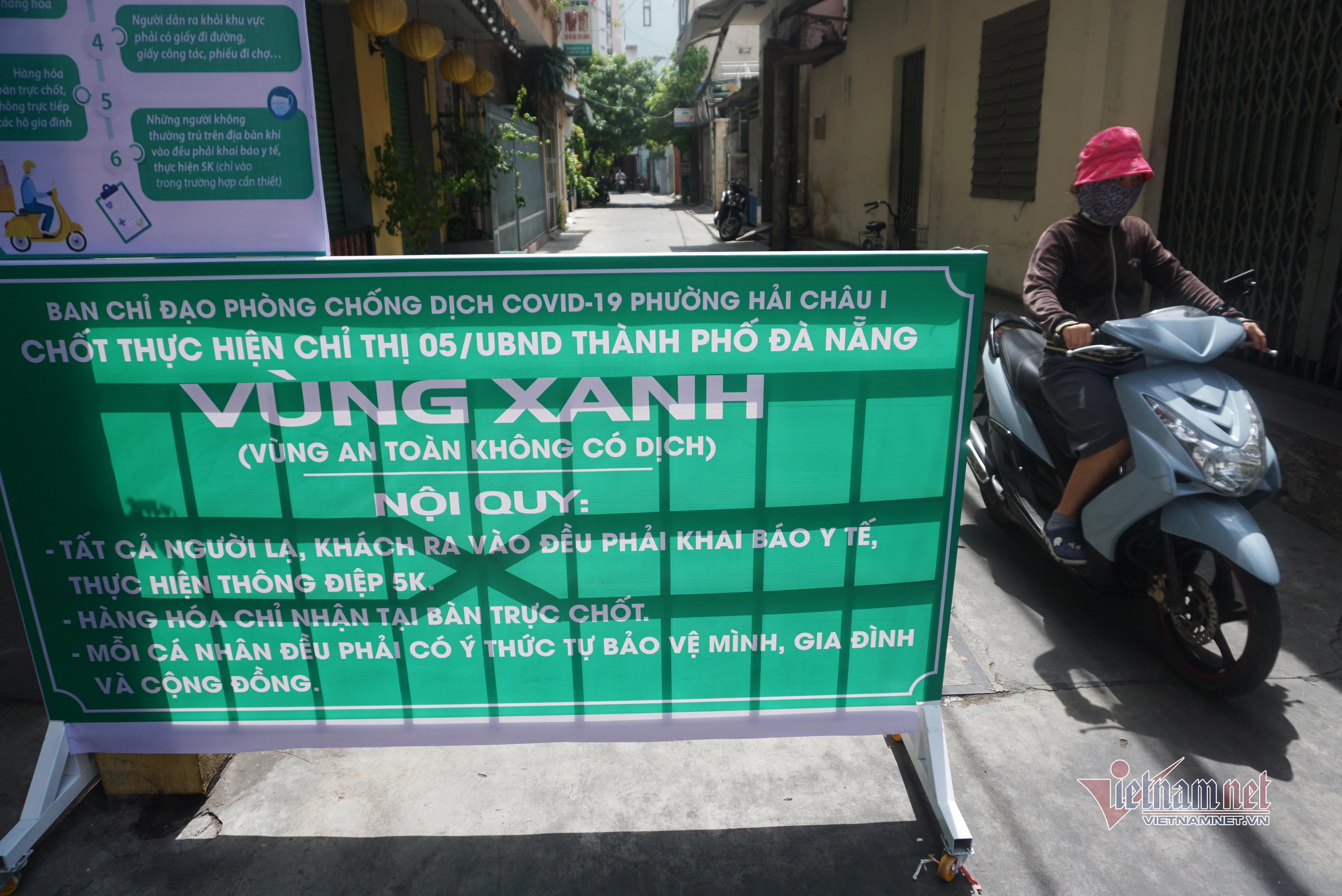 Dân Đà Nẵng thay nhau trực chốt, ngăn người lạ vào 'vùng xanh'