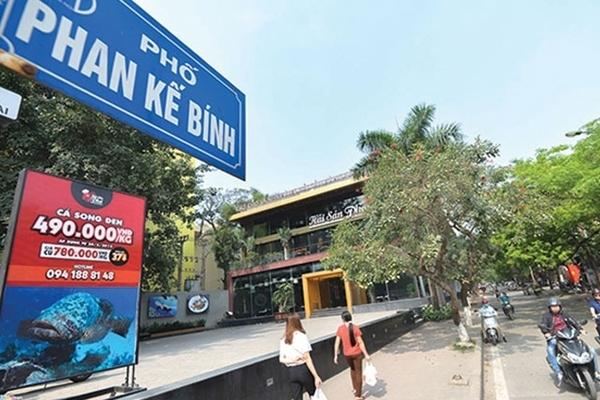 Mở đường Hà Nội đền bù hơn 97 triệu đồng/m2 mặt phố Phan Kế Bính