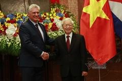 Tổng Bí thư Nguyễn Phú Trọng gửi điện mừng tới tân Bí thư thứ nhất Ban Chấp hành Trung ương Đảng Cộng sản Cuba