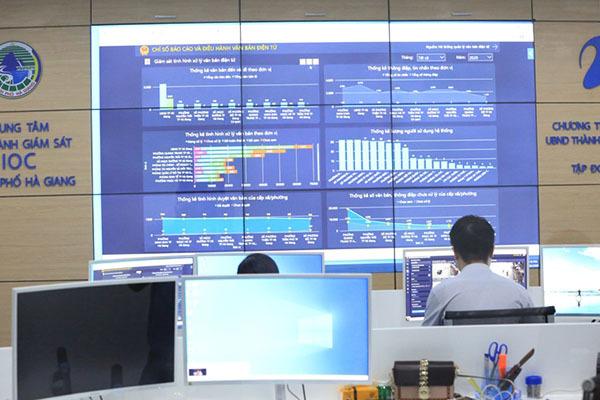 Hà Giang phấn đấu vào nhóm 20 tỉnh dẫn đầu về chuyển đổi số