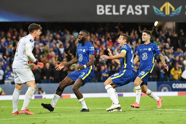 Kepa hóa người hùng, Chelsea đoạt Siêu cúp châu Âu