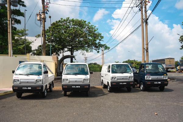 Suzuki tặng Đồng Nai 4 xe tải nhẹ phục vụ phòng chống dịch