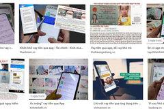 Khuyến cáo người dân cảnh giác với các 'App' vay tiền trên mạng