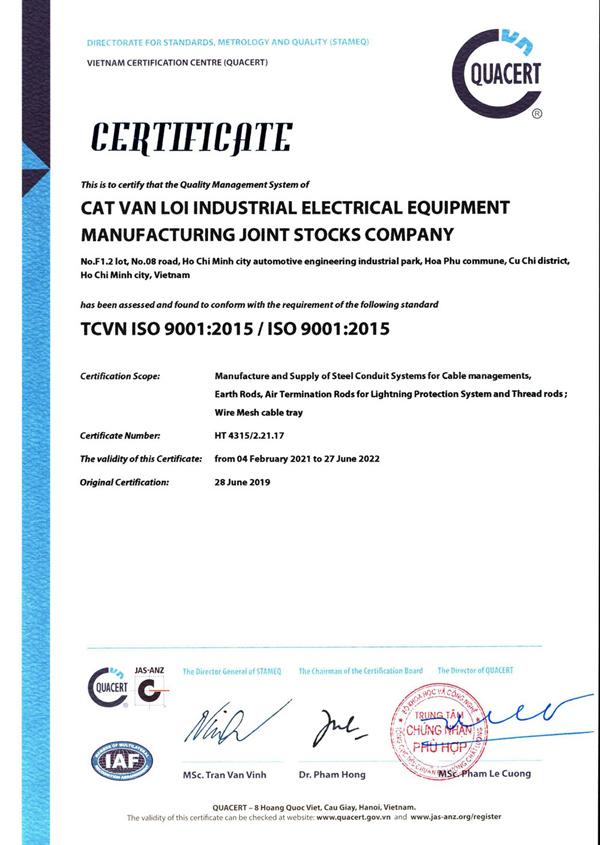 Ống luồn dây điện RSC Cát Vạn Lợi tham gia chuỗi cung ứng Tập đoàn Toshiba