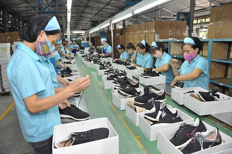 Nửa đầu năm 2021, khẩu hàng giày dép Việt Nam đạt 10,4 tỷ USD