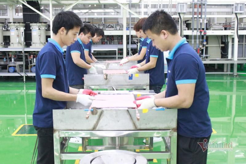 Vai trò ngành điện tử Việt Nam trong nền kinh tế