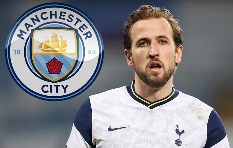 Man City nâng giá kỷ lục chiêu mộ Harry Kane