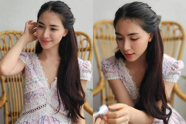 Hòa Minzy được khen như thiếu nữ trong loạt ảnh mới