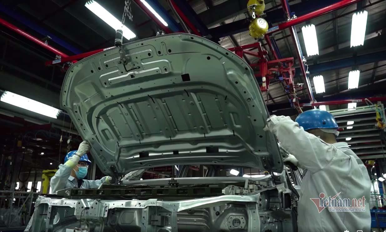 Giảm thuế phí, ô tô tăng trưởng mạnh