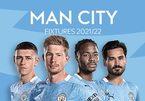 Lịch thi đấu của Man City ở Ngoại hạng Anh 2021-2022