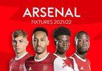 Lịch thi đấu của Arsenal ở Ngoại hạng Anh 2021-2022