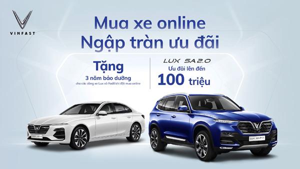 Tiên phong bán ô tô online, hãng xe Việt bước đầu thu 'quả ngọt'