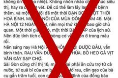 Chủ tài khoản Facebook Hằng Nguyễn bị phạt vì đăng thông tin gây hoang mang
