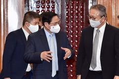 Thủ tướng Phạm Minh Chính tiếp Đại sứ Nhật Bản tại Việt Nam