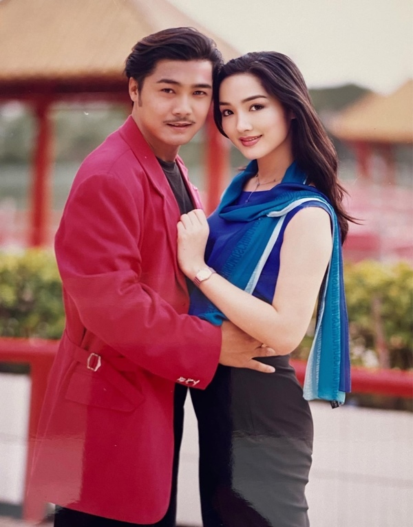 Choáng ngợp vẻ đẹp thanh xuân của Lý Hùng - Giáng My thập niên 1990