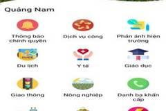 """Khai báo y tế, đưa ứng dụng """"Smart Quang Nam"""" vào phòng, chống dịch"""