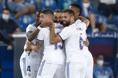 Benzema lập cú đúp, Real thắng hoành tráng trận ra quân
