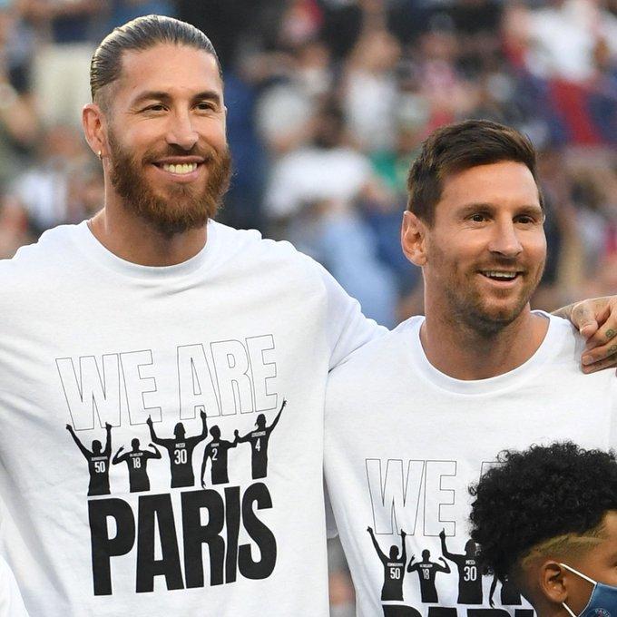 Sergio Ramos chuẩn bị sát cánh Messi, chơi trận ra mắt PSG