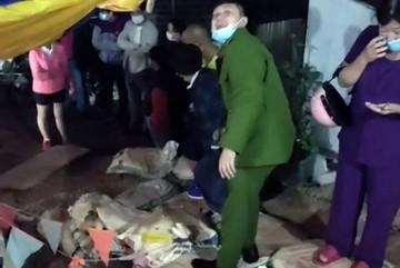 Di dời khẩn cấp 4 hộ dân ở trung tâm TP Đà Lạt vì sụt lún đất