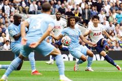 Son Heung-min rực sáng, Tottenham đánh gục Man City