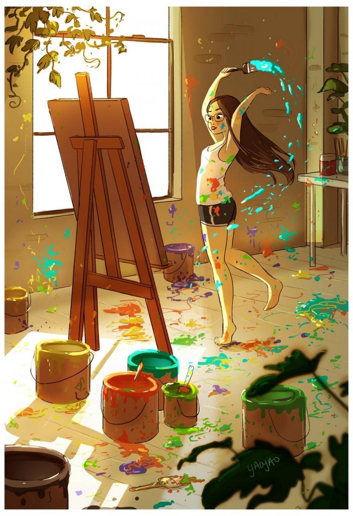 Độc thân, con gái vẫn hạnh phúc và biết cách tận hưởng cuộc sống