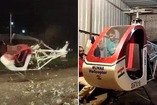 Thanh niên Ấn Độ qua đời khi thử nghiệm trực thăng