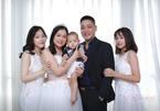 Ông Tấn 'Hương vị tình thân': Hạnh phúc bên vợ đẹp kém 7 tuổi và 3 con