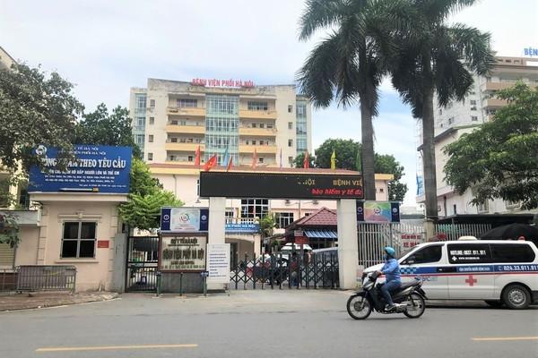 Bệnh viện Phổi Hà Nội gỡ phong tỏa, đón bệnh nhân trở lại vào ngày 19/8