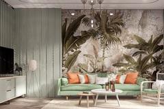 Tận hưởng cuộc sống thiên nhiên với phong cách Tropical