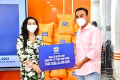 Quỹ từ thiện Kim Oanh kêu gọi ủng hộ gạo cho người dân vùng dịch