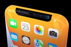 Mẫu iPhone 13 đẹp không tưởng, màn hình tràn cạnh bên