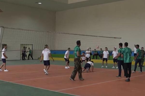 Hình ảnh đội tuyển Việt Nam giao lưu thể thao tại Army Games 2021