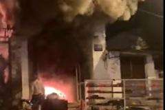 Hỏa hoạn thiêu rụi cửa hàng bán thiết bị âm thanh ở Đắk Lắk