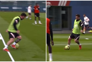 Messi quay đồng đội như chong chóng khiến fan phấn khích