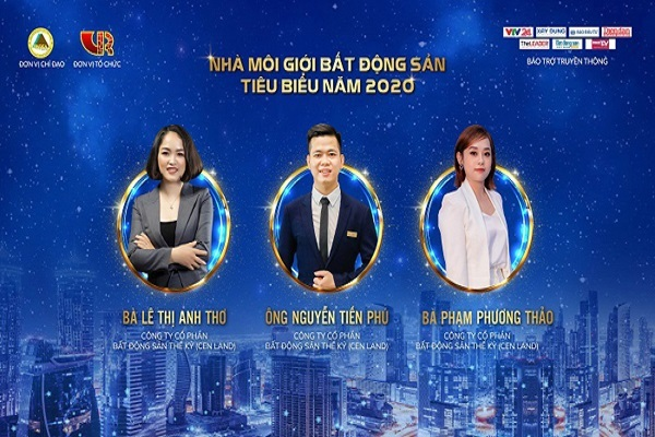 Cen Land thắng lớn ở giải thưởng của Hội môi giới Bất động sản Việt Nam