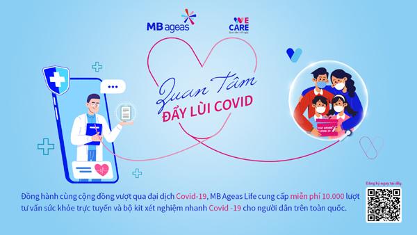 MB Ageas Life tặng 10.000 phần quà chống dịch COVID