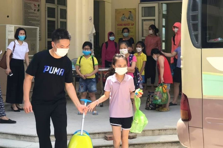 23cô trò phải cách ly tập trungvìca mắc Covid-19 ở Bắc Ninh