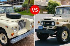 Khám phá SUV cổ 'nồi đồng cối đá' Land Rover Series III, Toyota Land Cruiser FJ40