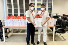 PV GAS tặng quà hỗ trợ cán bộ hưu trí phòng chống dịch