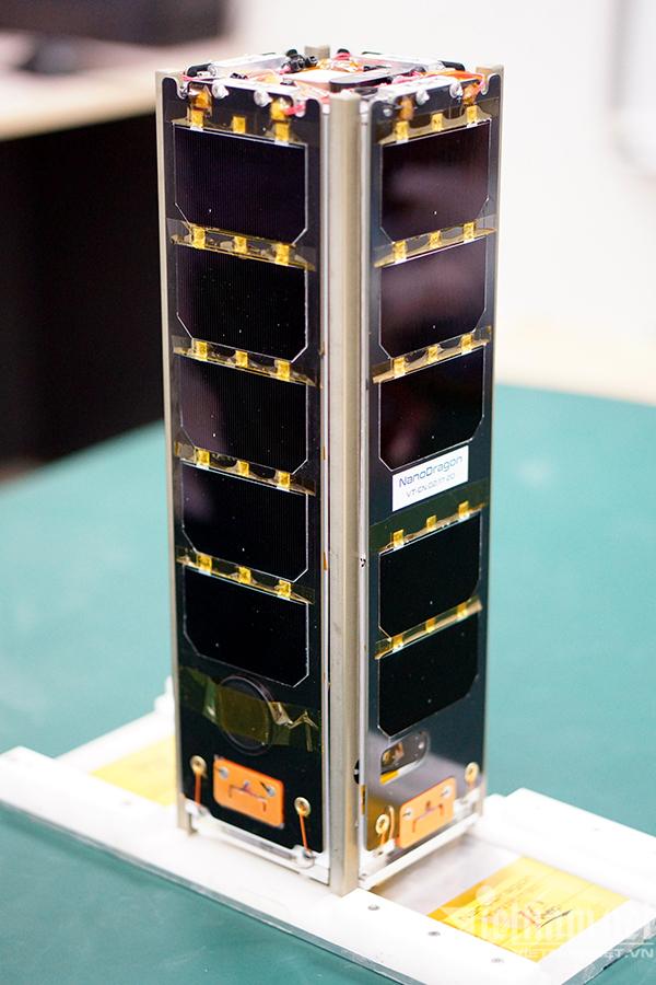 Vệ tinh NanoDragon của Việt Nam chuẩn bị phóng lên quỹ đạo