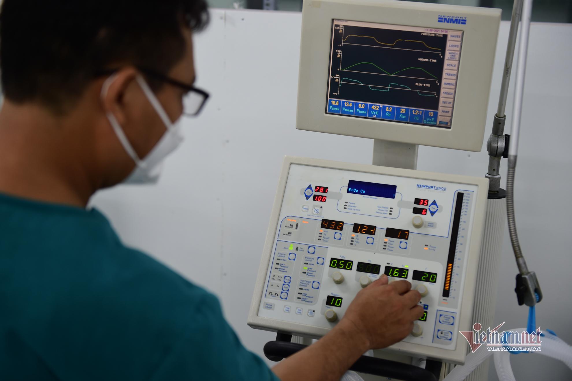 Bên trong nơi điều trị Covid-19 tuyến cuối vừa được bàn giao ở TP.HCM
