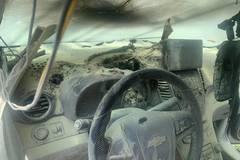 Chiếc Chevrolet ở Đắk Lắk phát nổ, hư hại nặng vì chủ xe bất cẩn