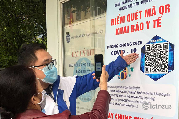 40% of Covid-19 cases in Hanoi found through electronic medical declaration screening