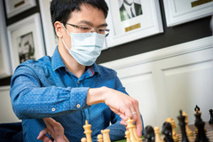 Quang Liem jumps 32 notches in world's blitz chess rankings